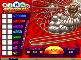 bingo bonanza