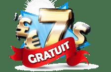 bonus gratuit sur Gratorama