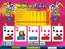 jeu de casino et video poker Joker Poker