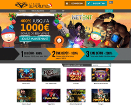 casino superlines en ligne et en langue française