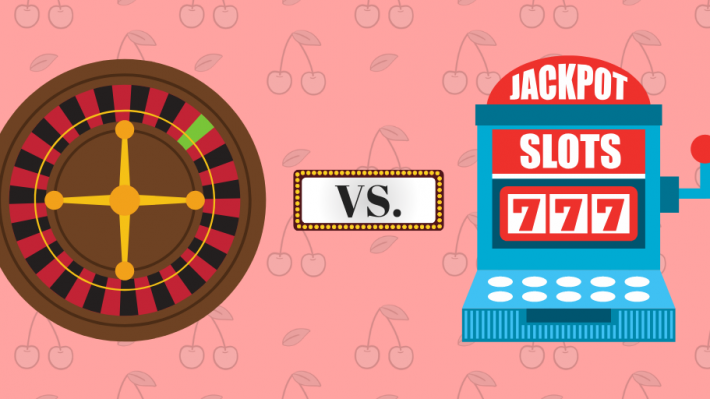 Comparatif : Machines à sous en ligne vs Roulette