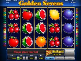 machine à sous golden sevens