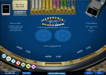 Jeu de Blackjack 21 gratuit