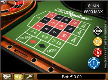 Mini Roulette gratuite de casino en ligne