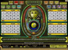 le jeu de bingo gratuit Pharaoh Bingo