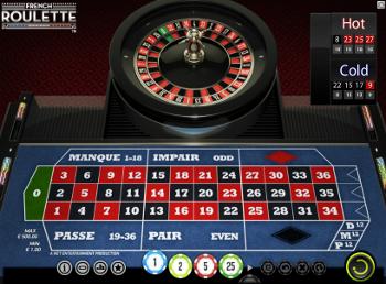 jeu de roulette française en ligne