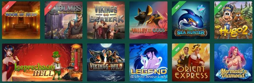 jeux de casino en ligne sur le site cresus