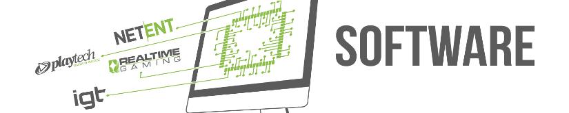 logiciels et softwares de sites de casino en ligne