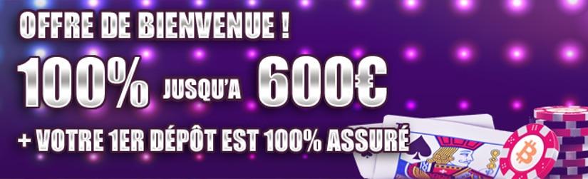 majestic slots vous offre un bonus de bienvenue de 600 euros