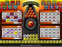 jeu gratuit mayan bingo