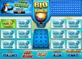 jeu de bingo rio bingo