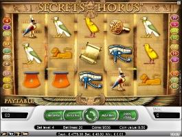machine à sous secrets Of horus