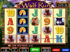 jeu de casino Wolf Run